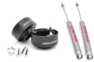 Rough Country 374.20   2.5 inch Suspension Leveling Kit with Premium N2.0 Series Shocks for Dodge Ram 1500 4WD Automotive