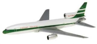 Daron Herpa Cathay Pacific L1011 385 60th Anniversary Diecast Aircraft, 1500 Scale Toys & Games