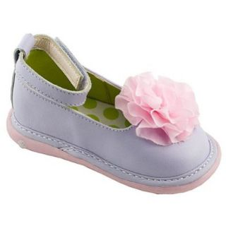 Wee Squeak Baby Girls Lilac Anklestrap Dress Shoes 4 Wee Squeak Shoes