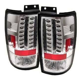 Ford Expedition 1997 2002 LED Tail Lights   Chrome Automotive