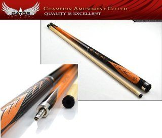 Brew New  Champion Orange Cx Billiards Pool Cue ,Maple Cue Market Values $399.99 Model Cx 01 Sports & Outdoors