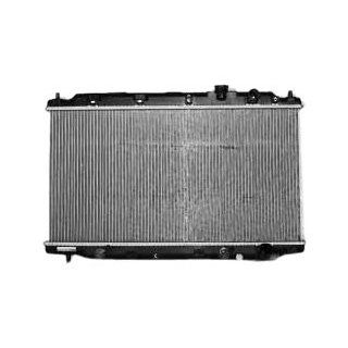TYC 1741 Acura Integra 1 Row Plastic Aluminum Replacement Radiator Automotive