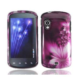 Feather Flower Hard Faceplate Cover Phone Case for Samsung Stratosphere i405 SCH i405 Cell Phones & Accessories
