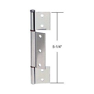 "Aluminum Offset Replacement Hinge with 1/8"" Offset Center Leaf"