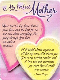 Blue Mountain Arts My Perfect Mother Miniature Easel Back Print with Magnet (MIN409)