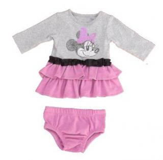 Minnie Mouse Infant Girls 2pc Dress (Newborn) Clothing