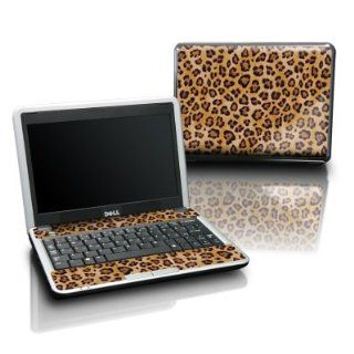 Leopard Spots Design Protective Skin Decal Sticker for DELL Mini 10 Laptop Netbook Computer Computers & Accessories