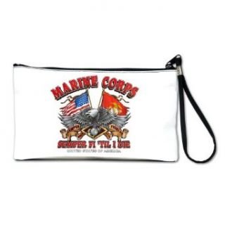 Artsmith, Inc. Clutch Bag Purse (2 Sided) Marine Corps Semper Fi Til I Die Clothing