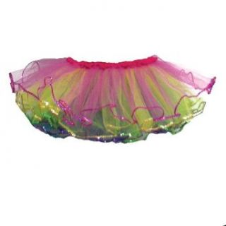 Little Girls Rainbow Ruffle Ballet Dance Tutu 2 6 Reflectionz Clothing