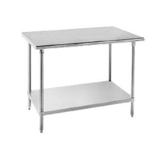 "Advance Tabco SAG 300 30"" Work Table   30"" W, All 16 ga 430 Stainless, Each"