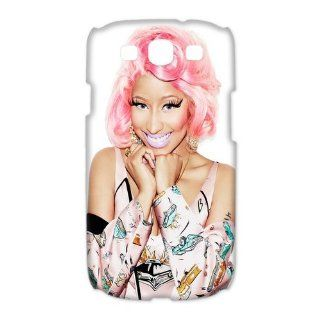 Custom Nicki Minaj 3D Cover Case for Samsung Galaxy S3 III i9300 LSM 2647 Cell Phones & Accessories
