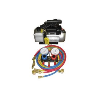 FJC Vacuum Pump And Gauge Set