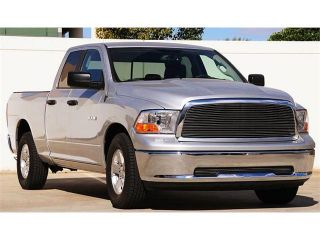 T REX 2009 2012 Dodge Ram PU 1500 Billet Grille Insert   1 Pc POLISHED 20457