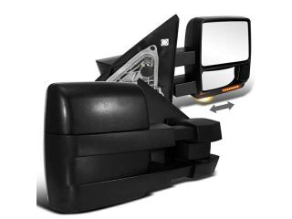 Ford F150 Stx Fx4 Xlt Power Towing Mirrors Led Turn Signal W/ Puddle Lights