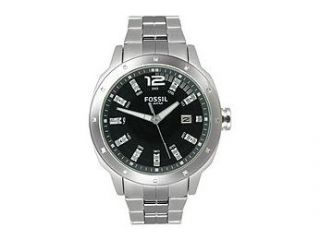 Fossil Dress Collection Crystal Markers Black Dial Men's watch #AM4246