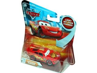 Disney Pixar Cars Lightning McQueen No. 1 with Lenticular Eyes 1:55 Scale