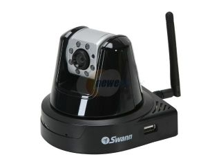 Swann SW111 UIP 640 x 480 MAX Resolution RJ45 IP 3G ConnectCam 3000   Day & Night Wireless 802.11G Pan/Tilt/Zoom Camera