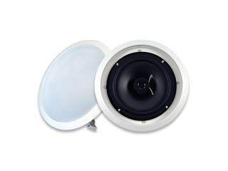 "Acoustic Audio SP8C 300W 8"" In Wall/Ceiling Home Theater Surround Sound Speaker"