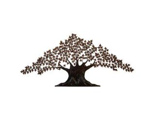 Urban Designs Handcrafted Tree of Life Large Metal Wall Art Decor   7 Feet