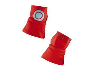 Marvel Super Hero Squad Iron Man Gauntlets, Red/Silver, One Size