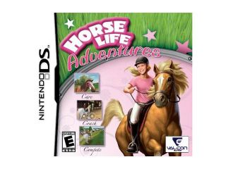 Horse Life Adventures Nintendo DS Game Valcon Games