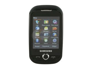 Samsung Corby White Unlocked GSM Touch Screen Phone with 2.0MP Camera (S3650)