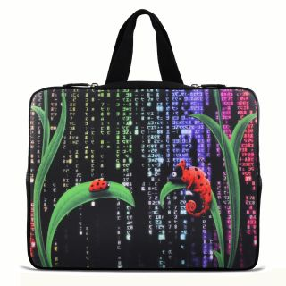 "Digital insects 9.7"" 10"" 10.2"" inch Laptop Netbook Tablet Case Sleeve Carrying bag with Hide Handle For iPad/Asus EeePC/Acer Aspire one/Dell inspiron mini/Samsung N145/Lenovo S205/HP Touchpad Mini 210"