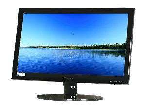 "Hanns G HL269DPB Black 26"" 5ms Widescreen LED Backlight LCD Monitor 250 cd/m2 X Contrast 30,000,000:1 (800:1) Built in Speakers"