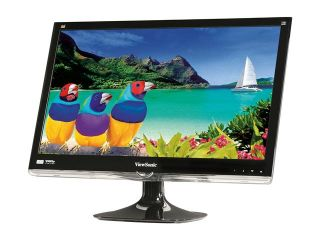 "ViewSonic VX2450wm LED Black 24"" (23.6"" Vis) LED Backlight LCD monitor"
