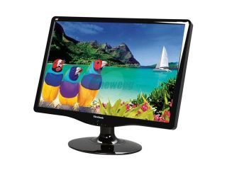 "ViewSonic VA2232WM Black 22"" 5ms Widescreen LCD Monitor 300 cd/m2 DC 100,000:1(1000:1) Built in Speakers"