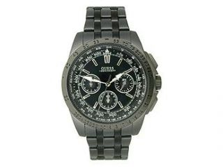 Guess WaterPro Metal Euro Cool Chronograph Black Dial Men's watch #U17521G1