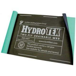 Fortifiber 40 in. x 48 ft. Hydrotex Water Resistant Barrier 5004225