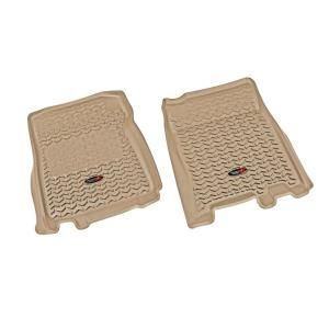 Rugged Ridge Floor Liner Front Pair Tan 1997 2003 Ford F150 83902.04