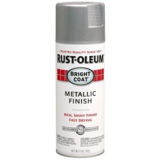 Rust Oleum Stops Rust 11 oz. Protective Enamel Metallic Aluminum Spray Paint 7715830